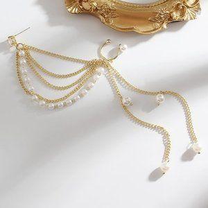Pre-order! Pearl Tassel Single Earring